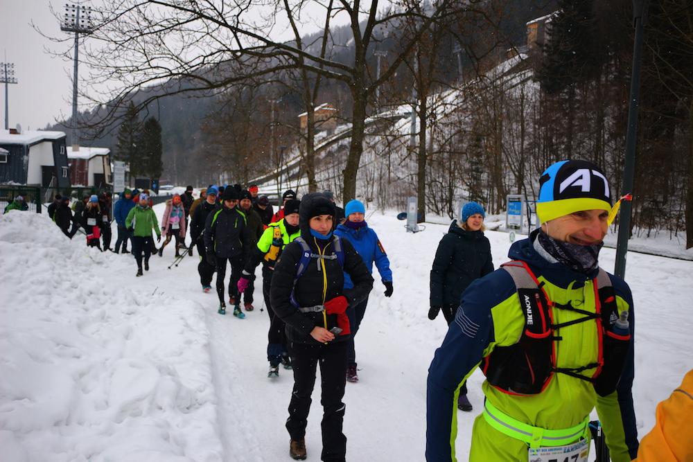 d7b41204806ae Zamieć / Zadyma / Zawierucha - ultramaraton na Skrzyczne (26.1.2019)